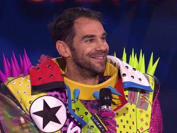 José Manuel Calderón era el Perro: ¡un campeón del mundo en 'Mask Singer'!