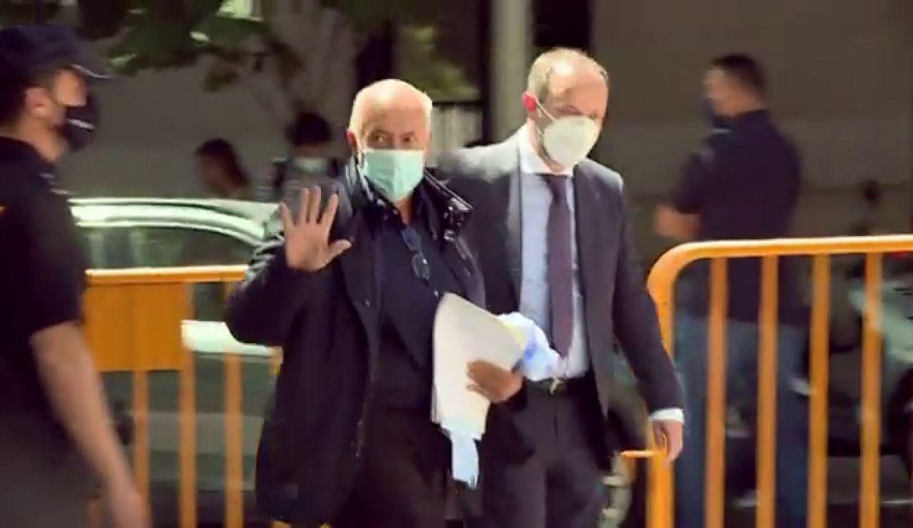 José Luis Moreno abona la fianza de 3 millones de euros ante el juez para evitar la cárcel