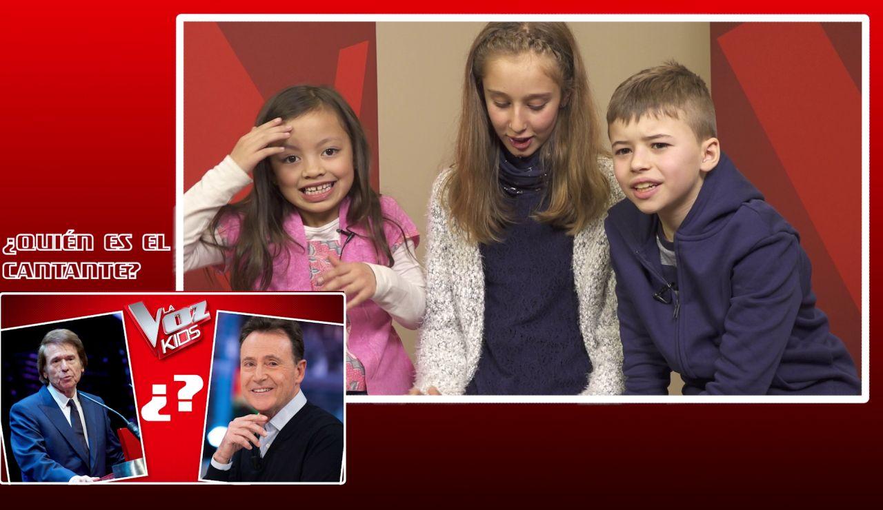 Los niños de 'La Voz Kids' discuten sobre la identidad de cantantes famosos