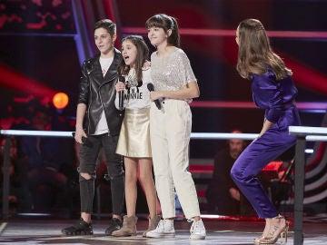 Rosario Flores se queda con la voz de Marta Fernández en las Batallas de 'La Voz Kids'