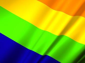 Día del Orgullo LGTBI. Bandera
