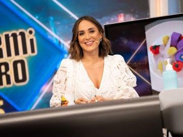 """Tamara Falcó opina sobre """"el chiringuito"""" de Toni Cantó en 'El Hormiguero 3.0'"""