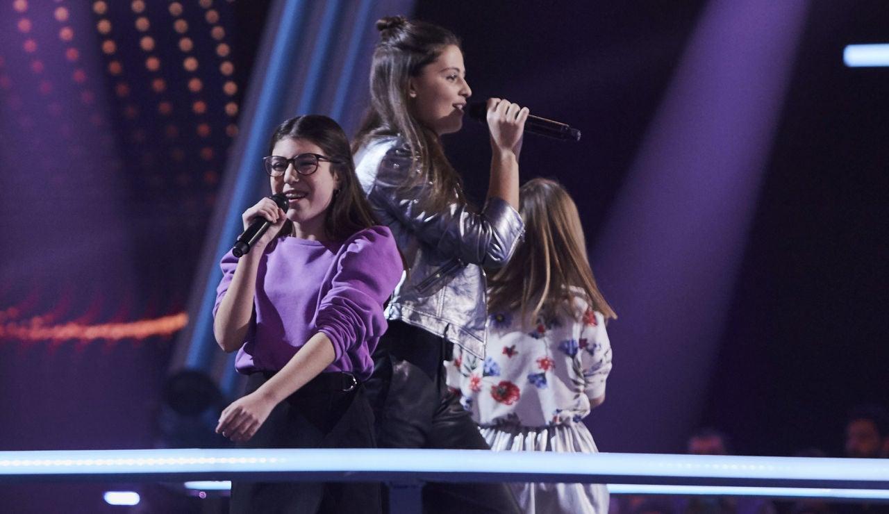 Nora, Julia y Luna cantan 'Just give me a reason' en las Batallas de 'La Voz Kids'