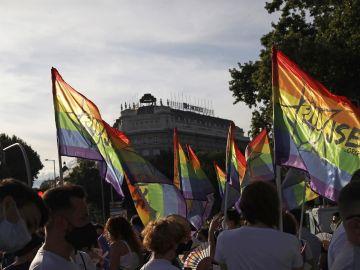 Manifestación del Orgullo LGTB en Madrid