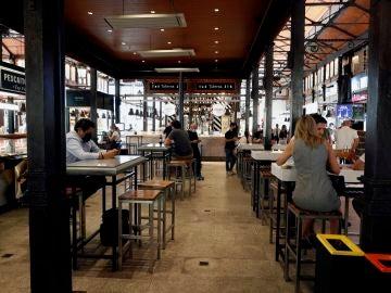 El Mercado de San Miguel reabre sus puertas tras nueve meses de cierre
