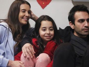 Los protagonistas de 'Mi hija', tras las cámaras