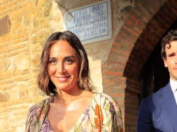 Tamara Falcó e Íñigo Onieva en la boda de Felipe Cortina y Amelia Milán