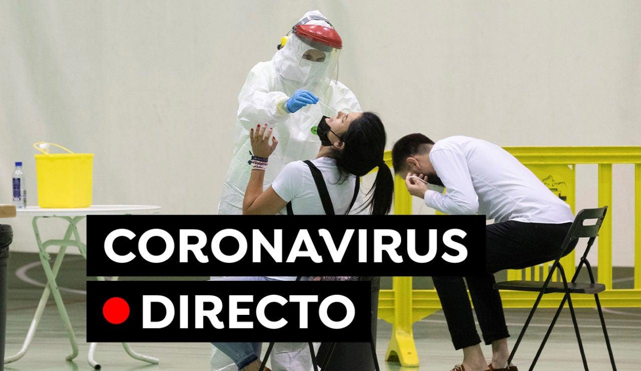 Coronavirus hoy: Última hora de las restricciones y autocita, vacunas y contagios, en directo