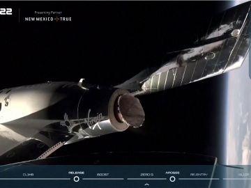Viaje de Richard Branson al espacio en el primer vuelo comercial de la historia, streaming en directo