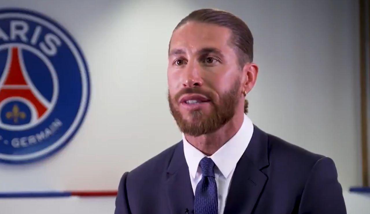 """Sergio Ramos quiere la Champions League con el PSG: """"Es un sueño, podemos ser un matrimonio perfecto"""""""