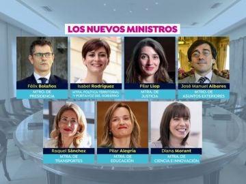 Nuevo Gobierno de Sánchez.