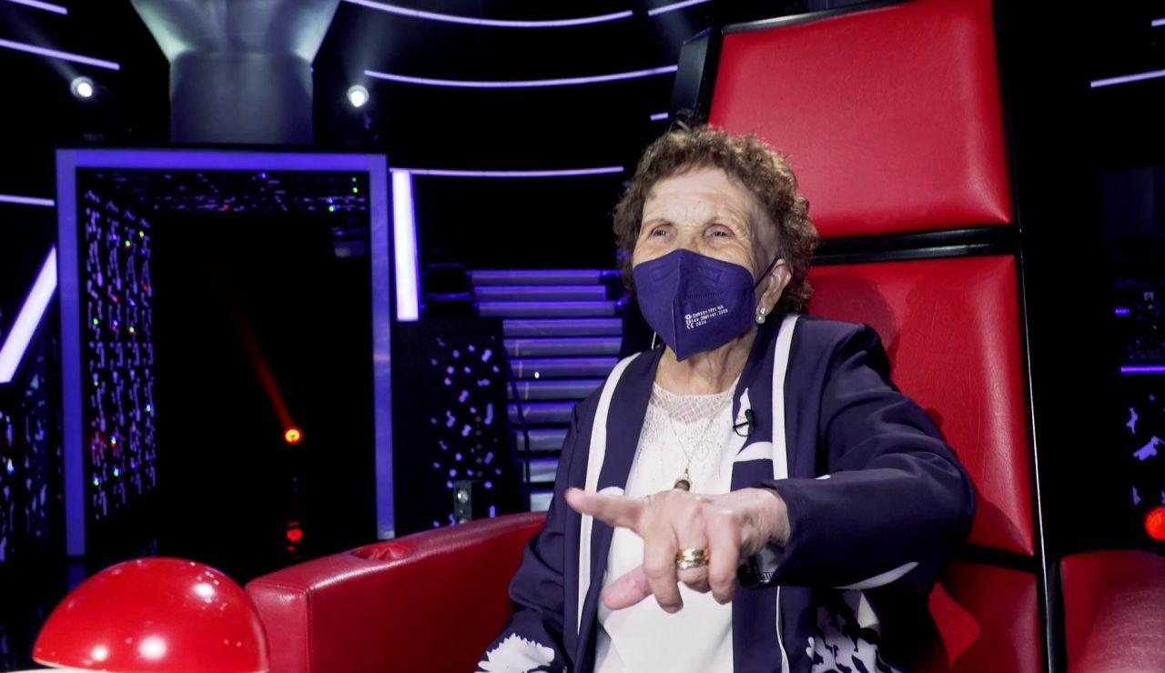 El tour de Palmira por Antena 3: baile en 'La ruleta de la suerte', lapsus con Sandra Golpe... ¡y nueva coach de 'La Voz'!
