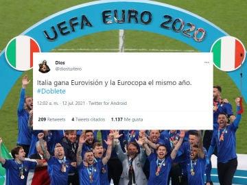 Los mejores memes de la final de la Eurocopa