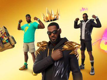 LeBron James llega a Fortnite y así serán sus skins en el videojuego
