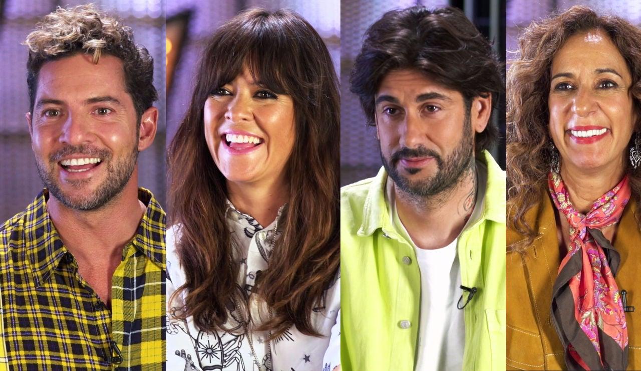Los coaches de 'La Voz Kids' se confiesan en un inesperado '¿Quién es más probable que...?'