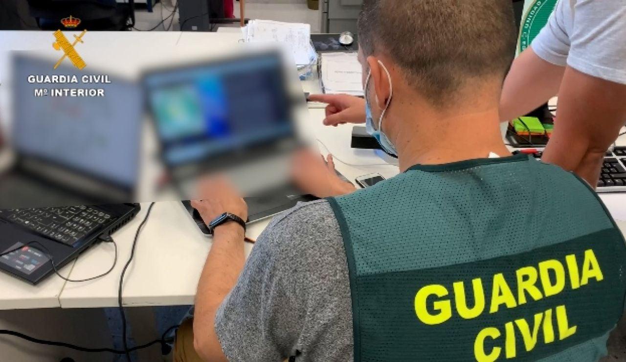 Foto de archivo de un agente de la Guardia Civil