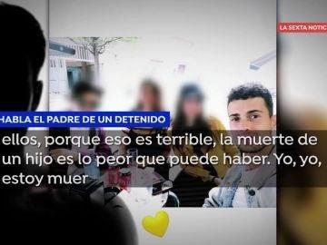Habla el padre de uno de los detenidos por el crimen de Samuel.