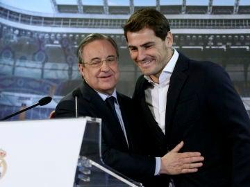 """Florentino Pérez responde a las audios filtrados sobre Casillas y Raúl: """"Son conversaciones grabadas clandestinamente"""""""