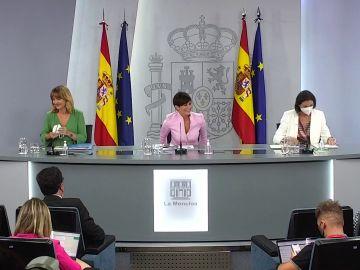 Rueda de prensa tras el Consejo de Ministros de hoy martes 13 de julio, en vídeo