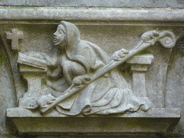 Santa Gertrudis de Nivelles, la patrona de los gatos