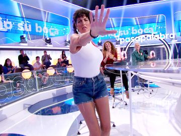 """Rocío Madrid lo da todo en 'La Pista': """"Me vengo arriba de rápido..."""""""