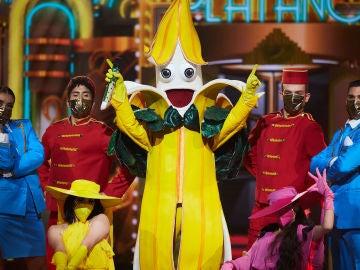 El Plátano saca su lado más dulzón con 'Pretty Woman' en 'Mask Singer'