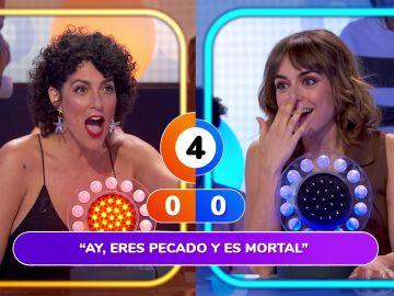 Una famosísima canción de David Bisbal desespera a Rocío Madrid en 'La Pista'