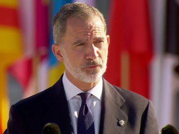 """Felipe VI, en el homenaje en recuerdo a las víctimas del coronavirus: """"Es  tarea  de  todos  seguir protegiéndonos"""""""