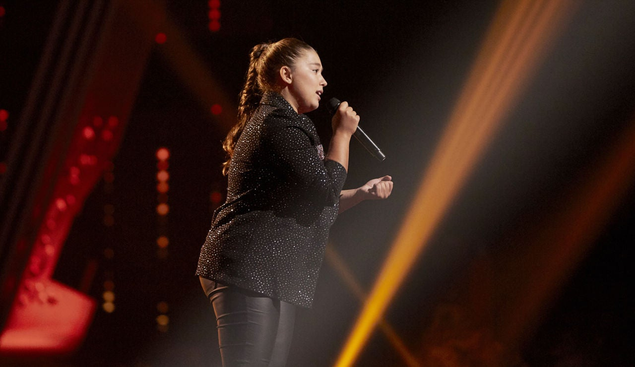 Rocío Avilés canta 'Vuelvo a verte' en la Semifinal de 'La Voz Kids'