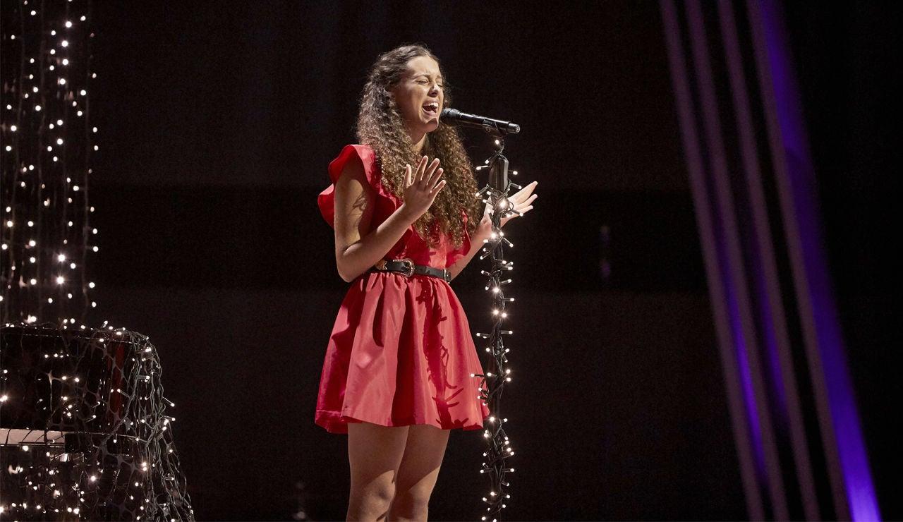 Carla Quesada canta 'All I ask' en la Semifinal de 'La Voz Kids'
