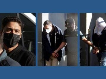 Los 3 detenidos en prisión por el asesinato de Samuel