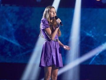 Carmen Puente canta 'I'll never love again' en la Semifinal de 'La Voz Kids'