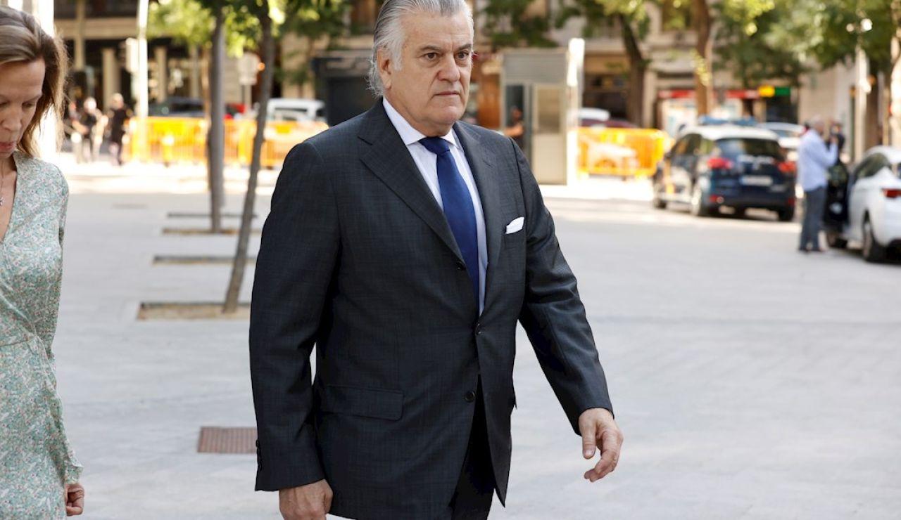 Luis Bárcenas declara de nuevo ante el juez por las presuntas donaciones de empresarios al PP