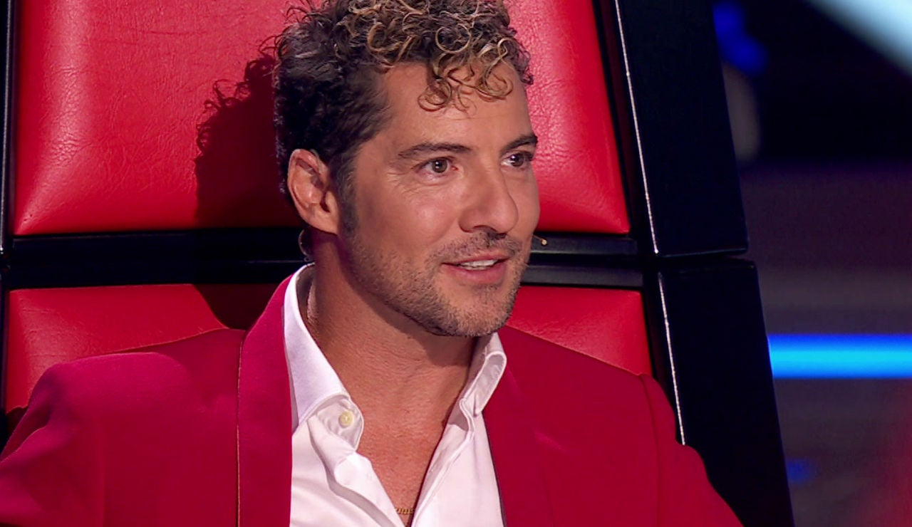 David Bisbal en la Semifinal de 'La Voz Kids'