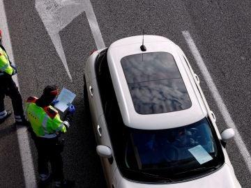 Foto de archivo de una carretera en Tenerife