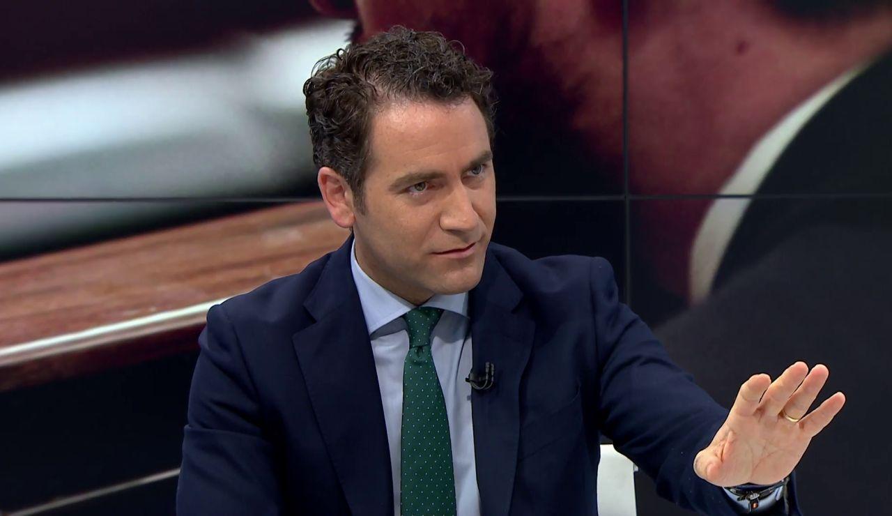 """Teodoro García Egea: """"Lo del viernes no es una conferencia de presidentes, es un monólogo de Sánchez"""""""