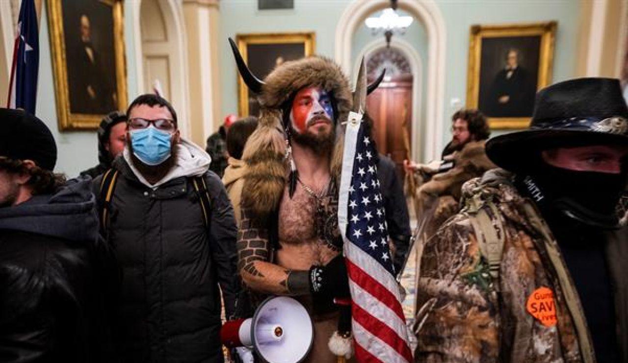 Imagen del asalto al Capitolio el pasado 6 de enero