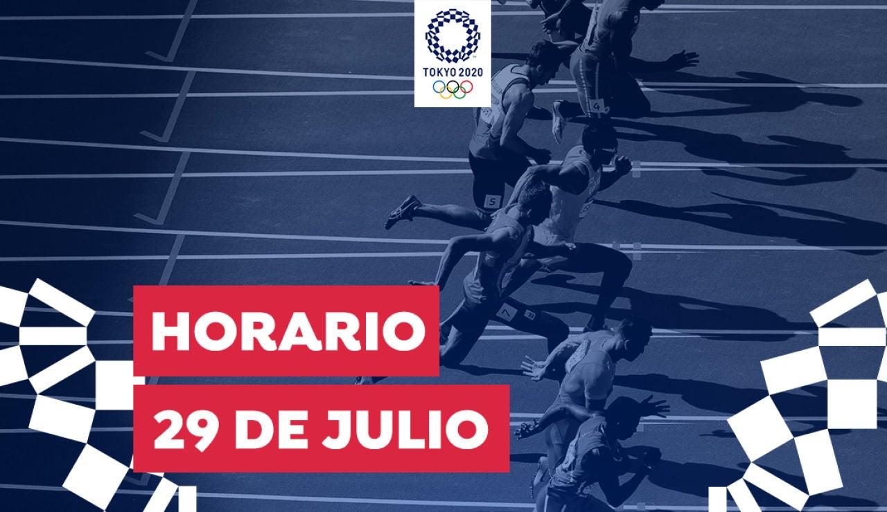 Horario y dónde ver las competiciones del jueves 29 de julio de los Juegos Olímpicos desde España