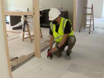 Falta mano de obra en la construcción