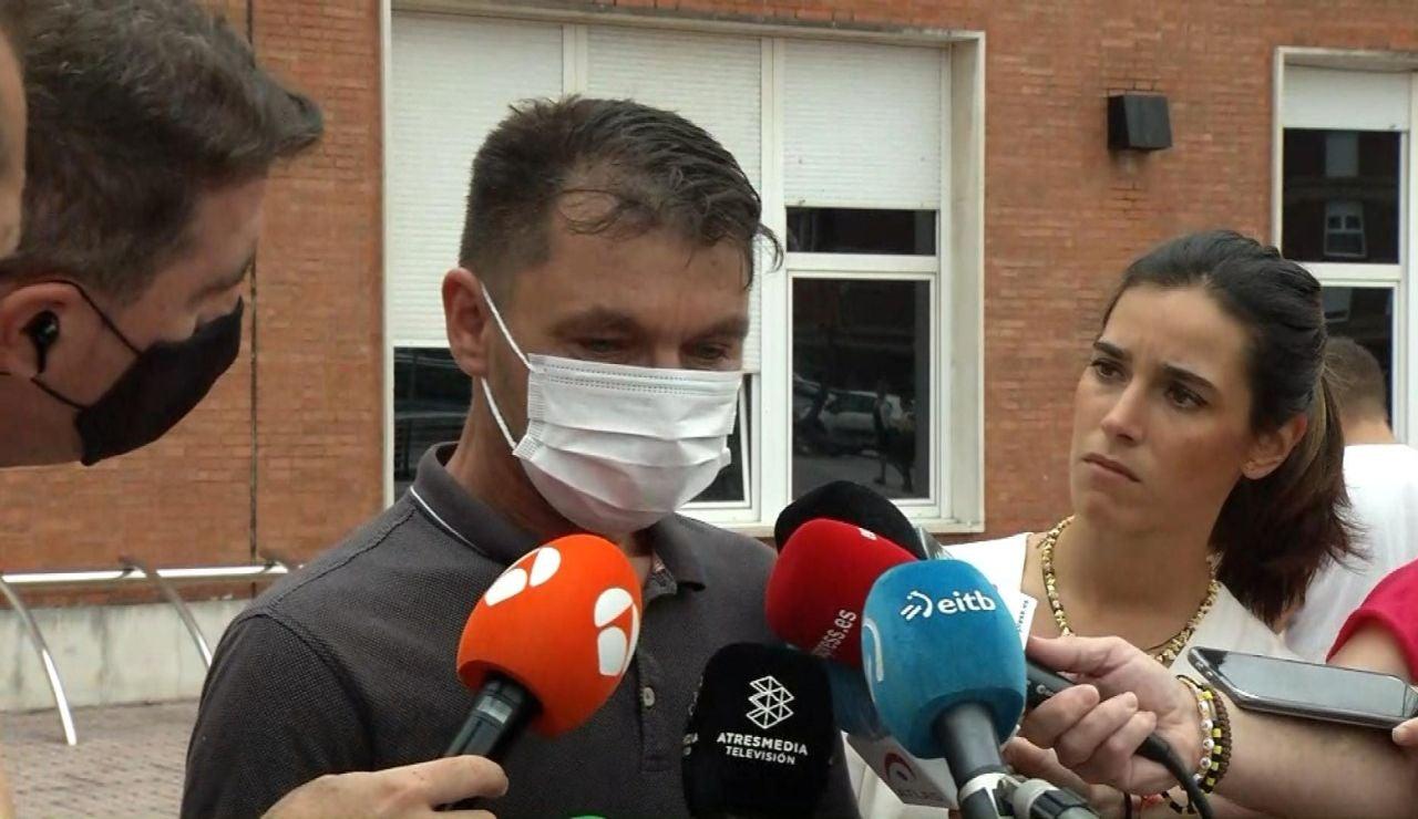 El padre del joven en coma tras una brutal paliza en Amorebieta