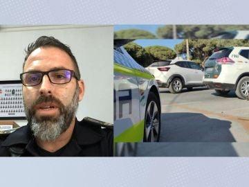 """Rafael Márquez, policía local de Chipiona, explica que es un """"babuchazo"""""""