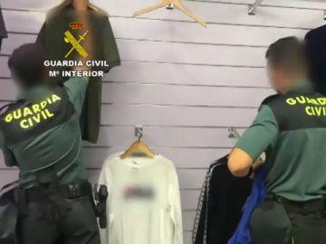 Detenidas 8 personas en La Jonquera por falsificar y vender ropa de marca falsificada