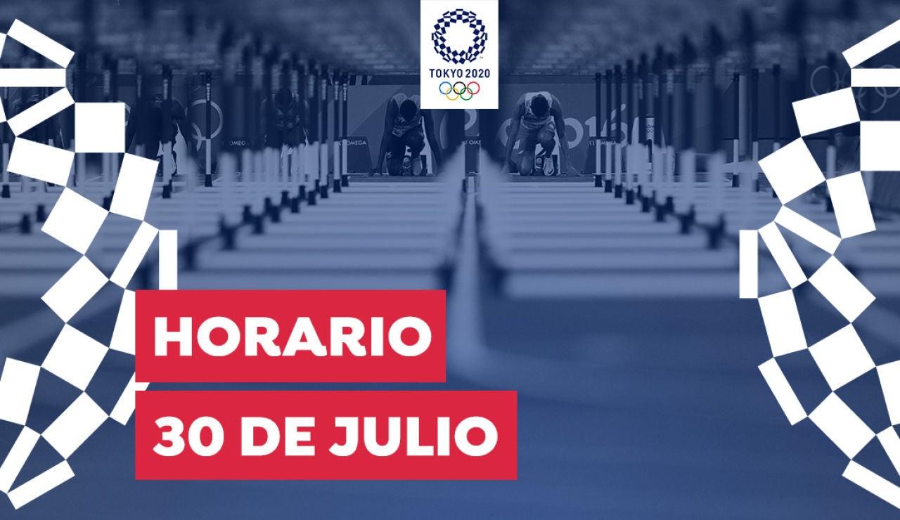 Horario y dónde ver las competiciones del viernes 30 de julio de los Juegos Olímpicos desde España