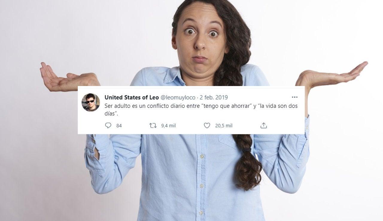 22 demoledores tuits que definen a la perfección lo que significa ser un adulto