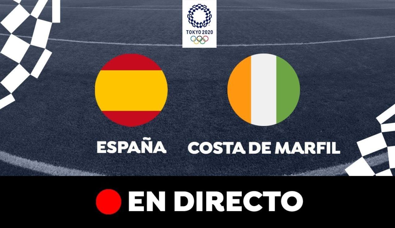 España - Costa de Marfil: Partido de hoy de los Juegos Olímpicos, en directo