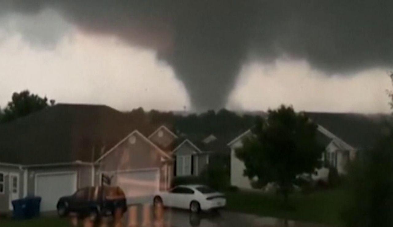 Dos tornados dejan cinco personas heridas en Pensilvania