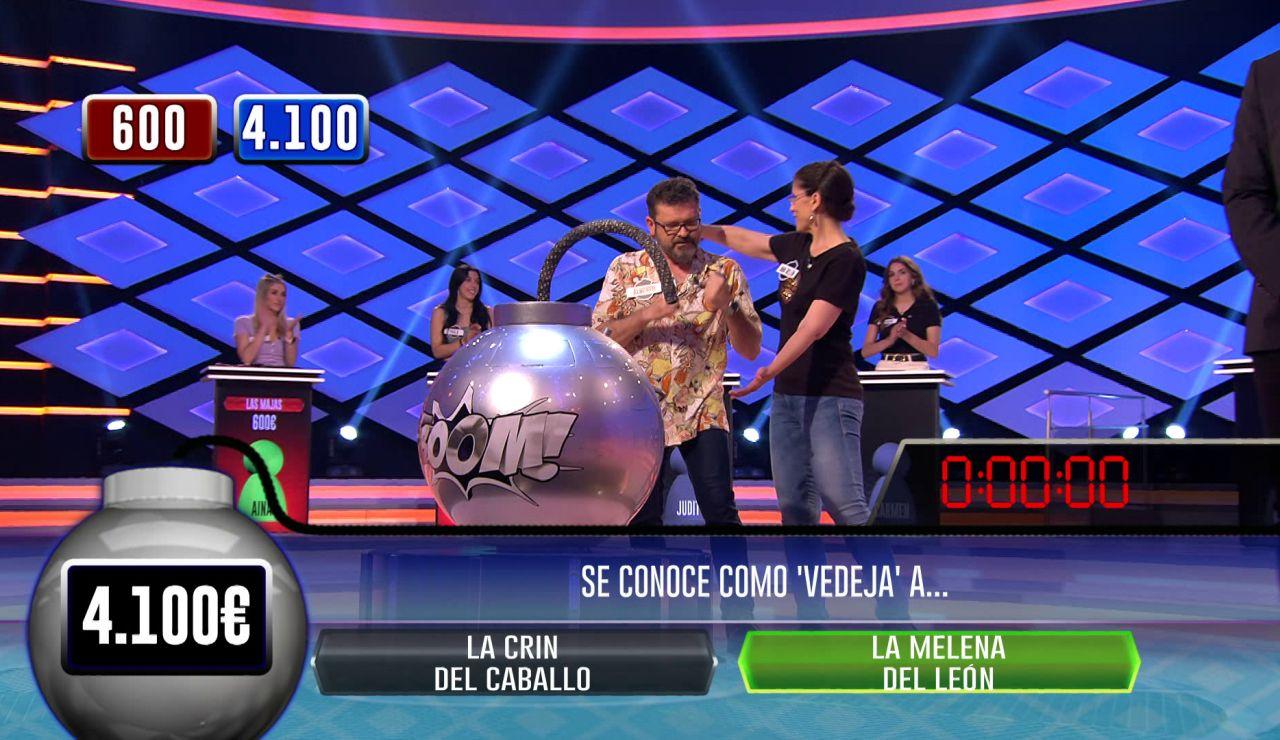 ¡Él no quería ser menos! Alberto se queda a una pregunta de igualar a Héctor en la fase clasificatoria de '¡Boom!'