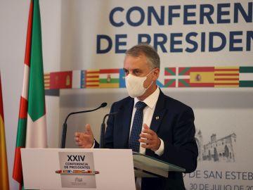 Iñigo Urkullu en la conferencia de presidentes