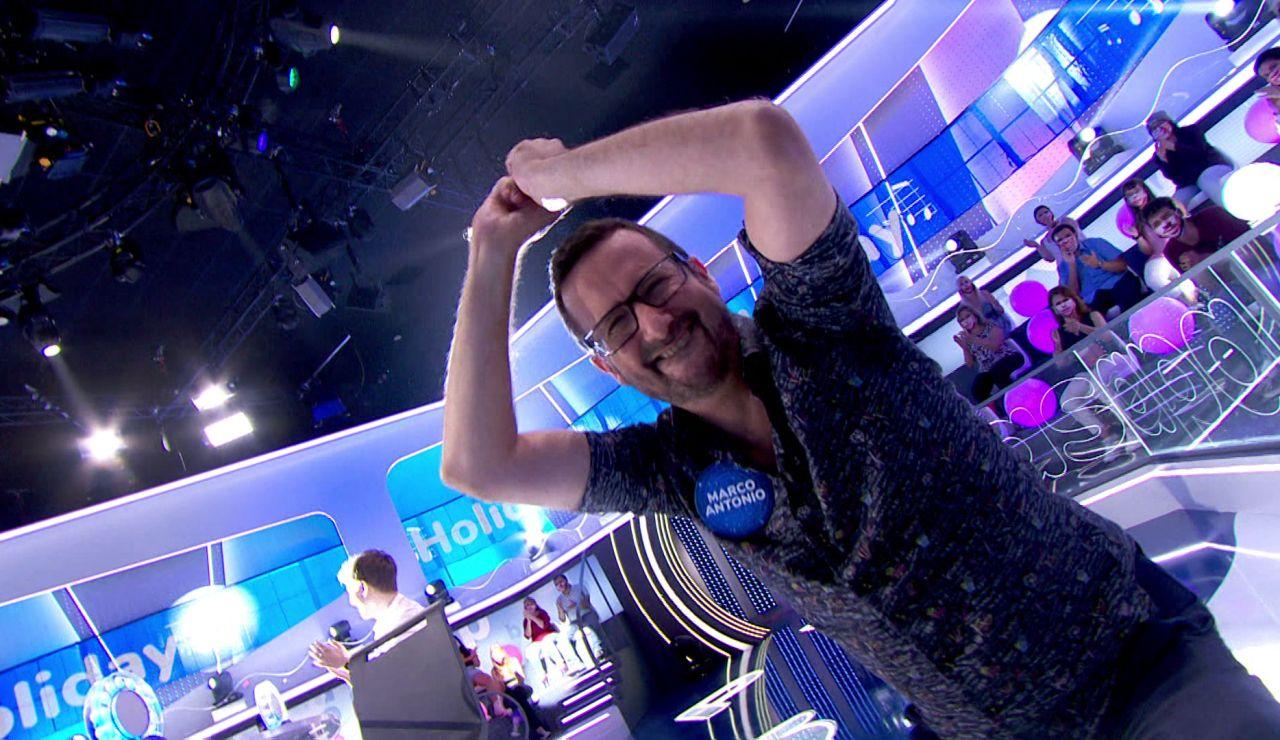 ¡Lo da todo! Marco Antonio acierta en 'La Pista' y sorprende con un eufórico baile