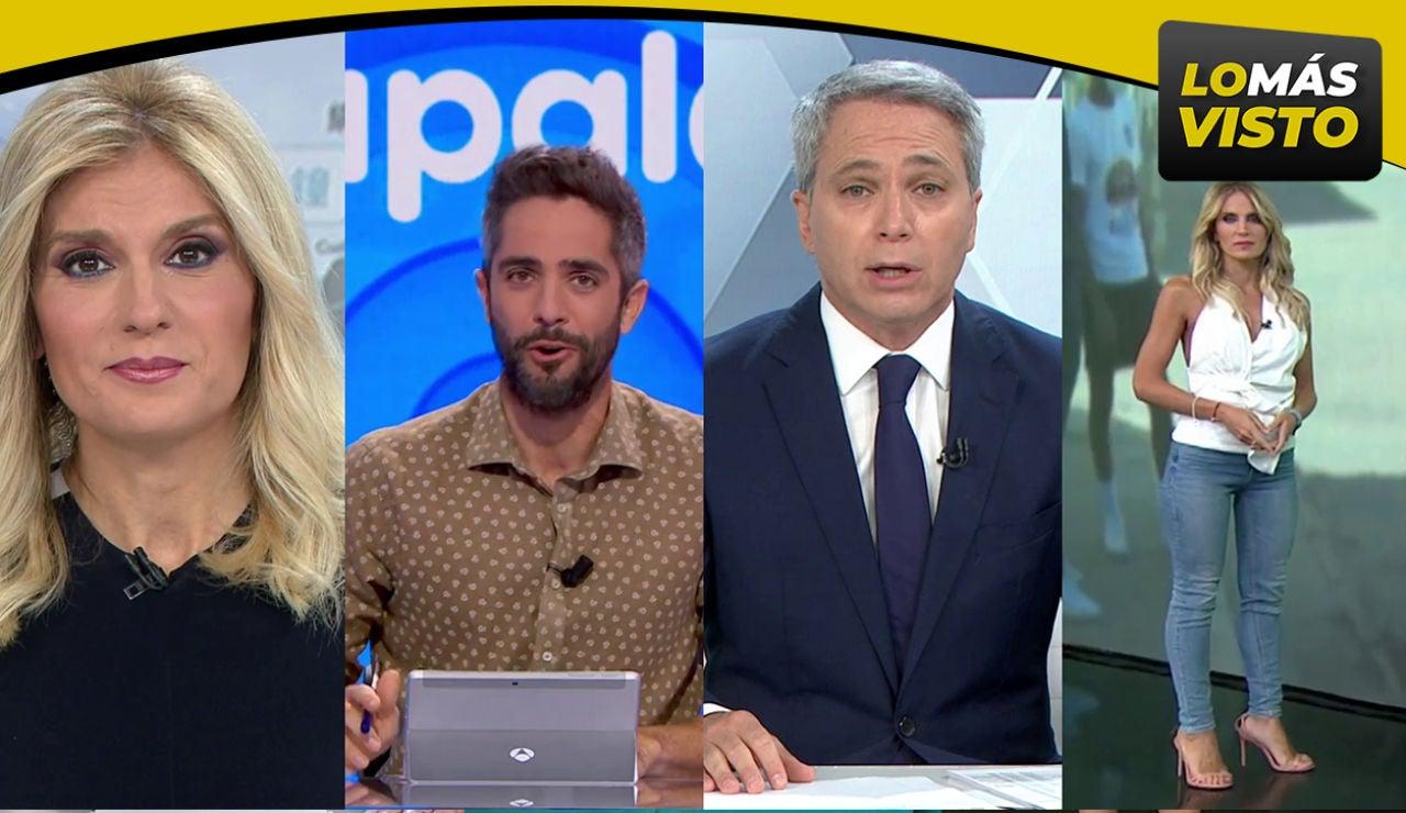 Antena 3 logra las emisiones más vistas del viernes con Antena 3 Noticias, Antena 3 Deportes y 'Pasapalabra'
